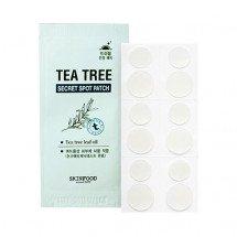 Наклейки против акне Skinfood Tea Tree Secret Spot Patch