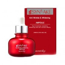 Сыворотка с миорелаксирующим эффектом Secret Key Syn-Ake Anti Wrinkle & Whitening Ampoule