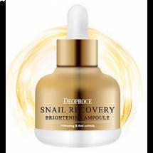Равликову сироватка Deoproce Snail Recovery Brightening Ampoule