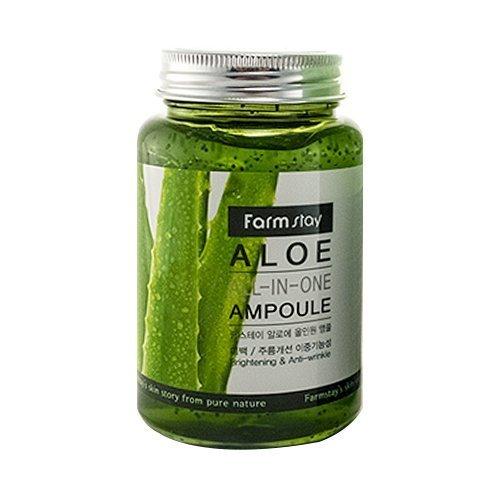 Ампульная сыворотка с алое FarmStay Aloe All-In One Ampoule