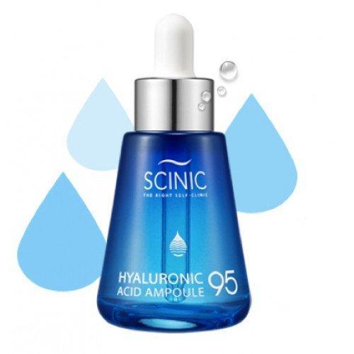 Увлажняющая сыворотка с гиалуроновой кислотой Scinic Hualuronic Acid Solutions Ampoule