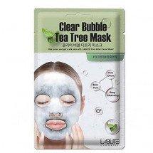 Очищающая кислородная маска с чайным деревомLabute Clear Bubble Tea Tree Mask