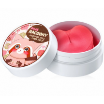 Гидрогелевые патчи Secret Key Pink Racoony Hydro Gel Eye & Cheek Patch