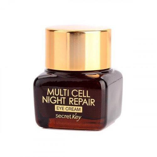Восстанавливающий крем для кожи вокруг глаз Secret Key Multi Cell Night Repair Eye Cream