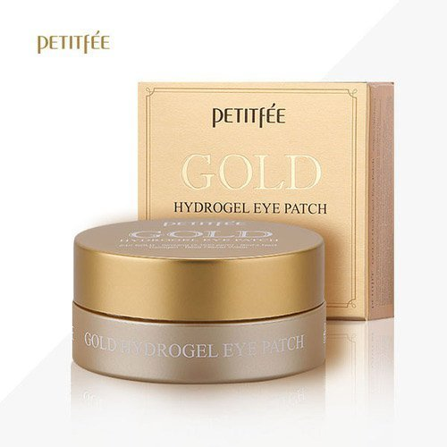 Гидрогелевые патчи Petitfee Gold Hydrogel Eye Patch +5 Golden Complex