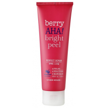 Скраб с AHA кислотами Etude House Berry AHA Bright Peel Perfect Scrub