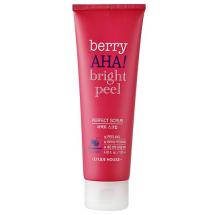 Скраб с AHA кислотами Etude House Berry AHA Bright Peel Perfect Scrub