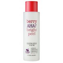 Кислотная пилинг-сыворотка Etude House Berry AHA Bright Peel Boosting Serum