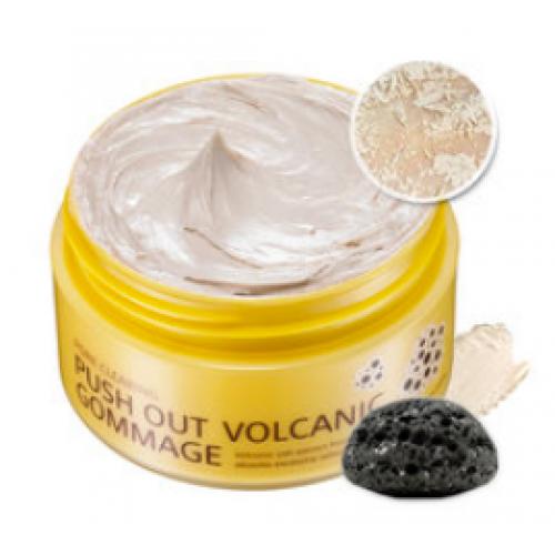Очищающая маска-гоммаж Mizon Pore Clearing Volcanic Gommage