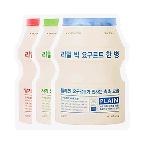 Тканевая маска A'PIEU Real Big Yogurt One Bottle