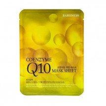 Тканевая маска с коэнзимом Q10 Baroness Coenzyme Q10 Mask Sheet