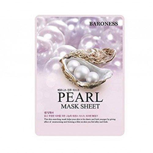 Маска с экстрактом жемчуга Baroness Pearl Mask Sheet
