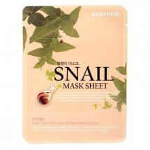 Тканевая маска с улиткой Baroness Snail Mask Sheet