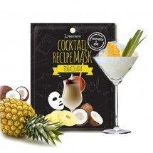 Коктейльная листовая маска Berrisom Cocktail Recipe Mask Pina Colada