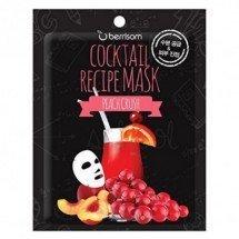 Коктейльная листовая маска Berrisom Cocktail Recipe Mask Peach Crush