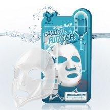 Листовая маска Elizavecca Aqua Deep Power Ringer Mask Pack
