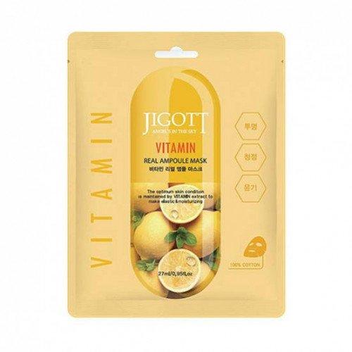 Ампульная маска з вітамінами Jigott Vitamin Real Ampoule Mask
