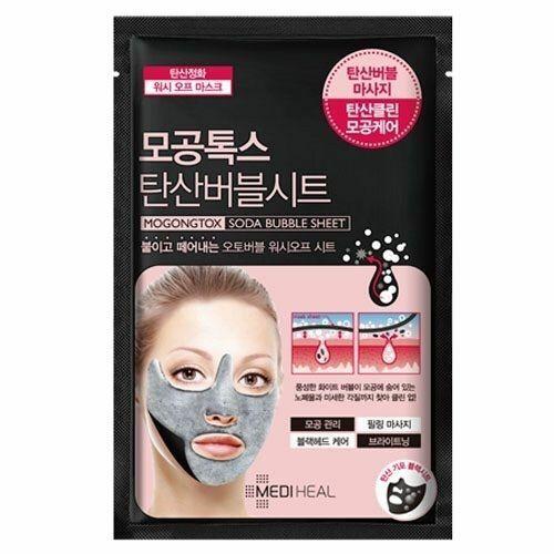 Очищающая пузырьковая маска Mediheal Mogongtox Soda Bubble Sheet