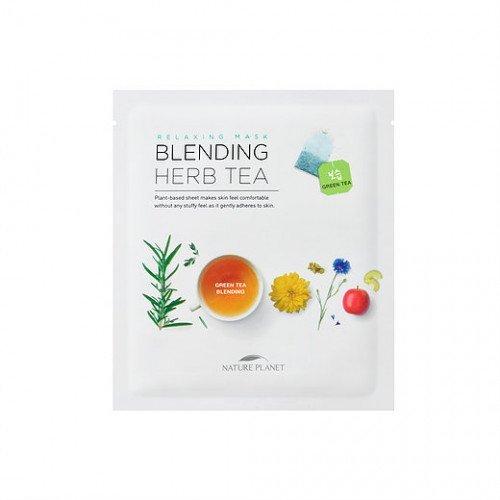 Тканевая маска Nature Planet Blending Herb Tea
