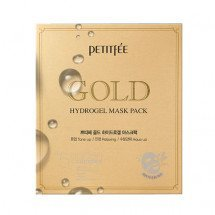Гидрогелевая маска Petitfee Gold Hydrogel Mask Pack +5 Golden Complex