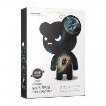 Ампульная маска для сужения пор The Oozoo Bear Black Space Pore Caring Mask