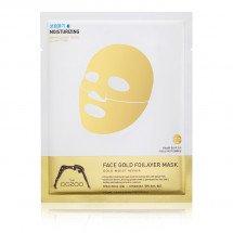 Трехслойная маска для лица Золото The Oozoo Face Gold Foilayer Mask