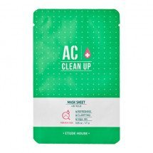 Тканевая маска для проблемной кожи Etude House AC Clean Up Mask Sheet