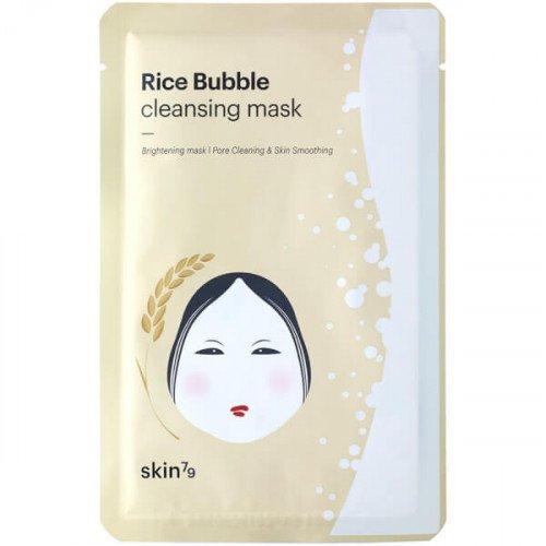 Очищающая пузырьковая маска Skin79 Rice Bubble Cleansing Mask