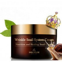 Улиточный крем The Skin House Wrinkle Snail System Cream BIG