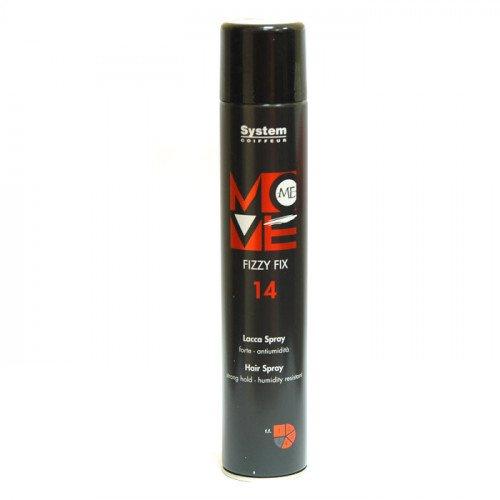Лак - спрей для волос Dikson Move Me 14 Fizzy Fix