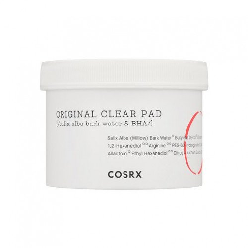 Очищающие спонжи с BHA-кислотой Cosrx One Step Original Clear Pad