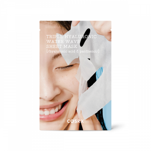 Інтенсивно зволожуюча маска Cosrx Hydrium Triple Hyaluronic Water Wave Sheet Mask