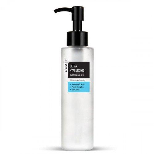 Гідрофільні масло з гіалуроновою кислотою Coxir Ultra Hyaluronic Cleansing Oil