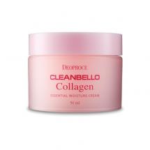 Крем с коллагеном и гиалуроновой кислотой Deoproce Cleanbello Collagen Essential Moisture Cream