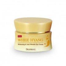 Разглаживающий и отбеливающий крем с женьшенем для кожи вокруг глаз Deoproce Whee Hyang Whitening & Anti-Wrinkle Eye Cream