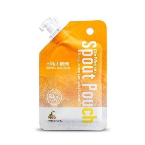 Многофункциональная пенка-скраб Dermeiren Powder Scrub And Deep Cleansing Foam