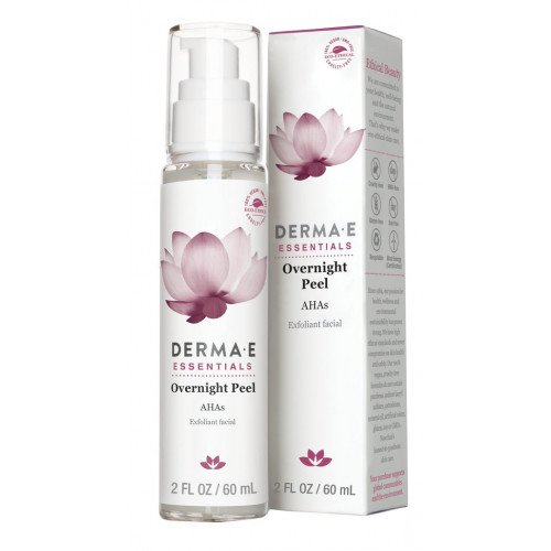 Ночной пилинг с AHA кислотами Derma E Overnight Peel with Alpha Hydroxy Acids