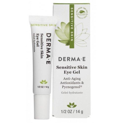 Антивозрастной гель для кожи вокруг глаз Derma E Sensitive Skin Eye Gel with Pycnogenol®