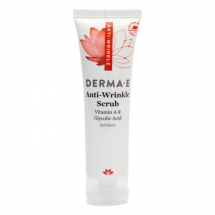Миниатюра гликолевый скраб с ретинолом Derma E Anti-Wrinkle Vitamin A Glycolic Scrub Deluxe Sample