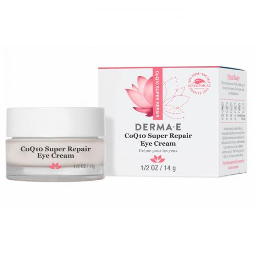 Увлажняющий антиоксидантный крем для кожи вокруг глаз Derma E CoQ10 Super Repair Eye Cream