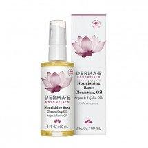 Очищающее масло Derma E Nourishing Rose Cleansing Oil