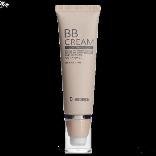 ВВ-крем з пептидами та захистом вiд сонця Dr.Hedison BB Cream SPF37/PA ++