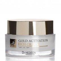 Крем с коллоидным золотом Dr.Hedison Gold Activation Rich Cream
