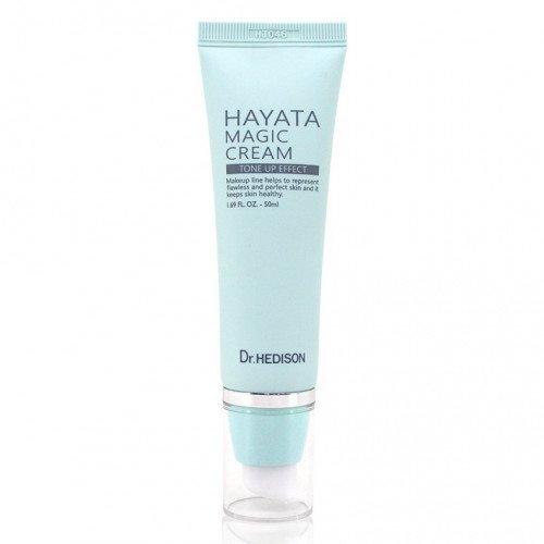 Крем для выравнивания тона и рельефа кожи лица под макияж Dr.Hedison HAYATA Magic Cream