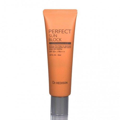 Солнцезащитный крем для лица Dr.Hedison Perfect Sun Block SPF50+/PA+++