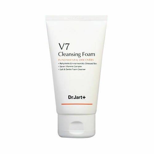 Витаминная пенка для умывания Dr. Jart+ V7 Cleansing Foam