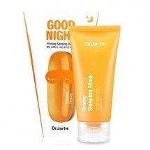 Ночная маска для упругости и эластичности кожи Dr.Jart+ Good Night Dermask Intra Jet Firming Sleeping Mask