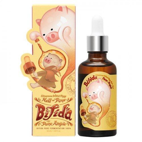 Сыворотка 100% Лизата Бифидобактерий Elizavecca Witch Piggy Hell-Pore Bifida Pure Ample