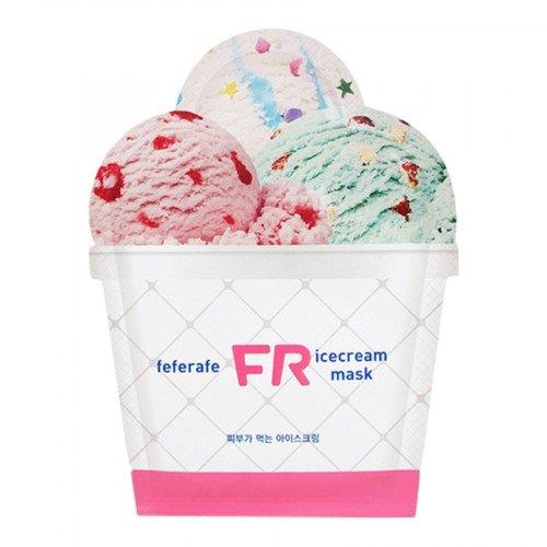Увлажняющая и охлаждающая маска Feferafe FR Ice Cream Mask