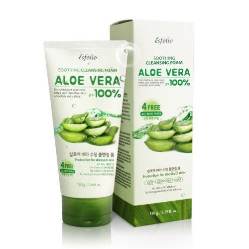 Пена для умывания Esfolio Aloe Vera Soothing Cleansing Foam